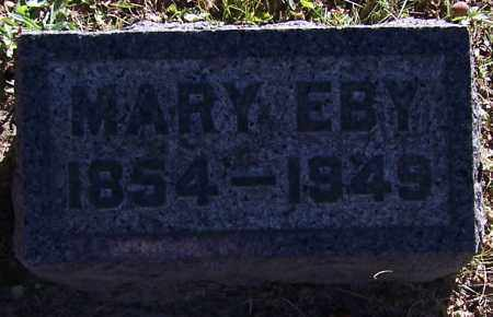 EBY, MARY - Stark County, Ohio | MARY EBY - Ohio Gravestone Photos