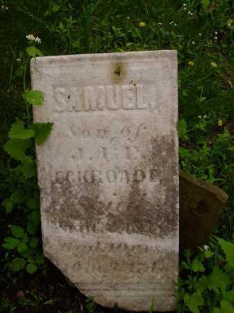 ECKROADE, SAMUEL - Stark County, Ohio | SAMUEL ECKROADE - Ohio Gravestone Photos