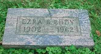 EDDY, EZRA B - Stark County, Ohio | EZRA B EDDY - Ohio Gravestone Photos