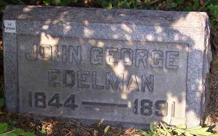 EDELMAN, JOHN GEORGE - Stark County, Ohio | JOHN GEORGE EDELMAN - Ohio Gravestone Photos