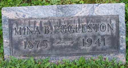 EGGLESTON, MINA B. - Stark County, Ohio | MINA B. EGGLESTON - Ohio Gravestone Photos