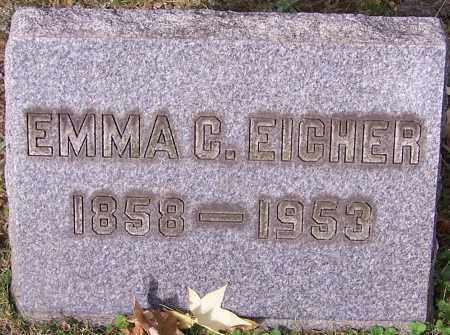 EICHER, EMMA C. - Stark County, Ohio | EMMA C. EICHER - Ohio Gravestone Photos