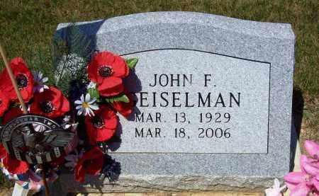 EISELMAN, JOHN F. - Stark County, Ohio | JOHN F. EISELMAN - Ohio Gravestone Photos