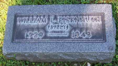 EISENHUTH, WILLIAM L. (BILLY) - Stark County, Ohio | WILLIAM L. (BILLY) EISENHUTH - Ohio Gravestone Photos