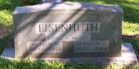 EISENHUTH, WILLIAM B. - Stark County, Ohio | WILLIAM B. EISENHUTH - Ohio Gravestone Photos