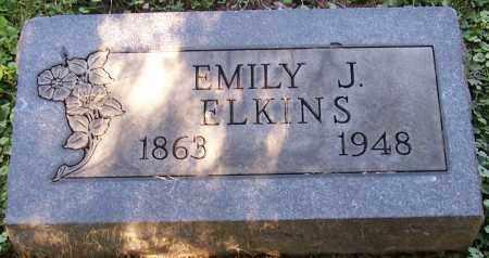 ELKINS, EMILY J. - Stark County, Ohio | EMILY J. ELKINS - Ohio Gravestone Photos