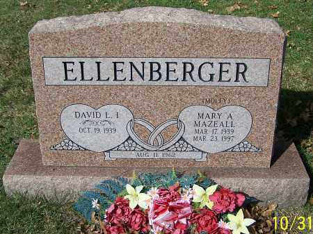 ELLENBERGER, DAVID L.I. - Stark County, Ohio | DAVID L.I. ELLENBERGER - Ohio Gravestone Photos