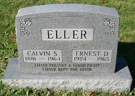 ELLER, CALVIN S. - Stark County, Ohio | CALVIN S. ELLER - Ohio Gravestone Photos