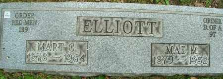 ELLIOTT, MART C. - Stark County, Ohio | MART C. ELLIOTT - Ohio Gravestone Photos