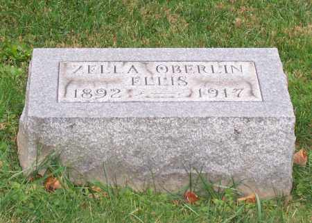 ELLIS, ZELLA - Stark County, Ohio | ZELLA ELLIS - Ohio Gravestone Photos