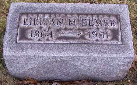 ELMER, LILLIAN M. - Stark County, Ohio | LILLIAN M. ELMER - Ohio Gravestone Photos