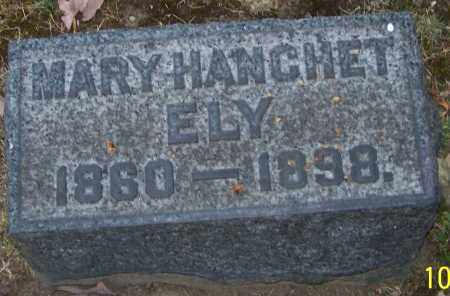 ELY, MARY HANCHET - Stark County, Ohio | MARY HANCHET ELY - Ohio Gravestone Photos