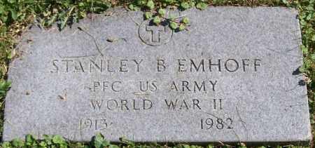 EMHOFF, STANLEY B. - Stark County, Ohio | STANLEY B. EMHOFF - Ohio Gravestone Photos