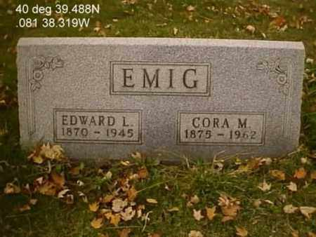 EMIG, EDWARD LEWIS - Stark County, Ohio | EDWARD LEWIS EMIG - Ohio Gravestone Photos