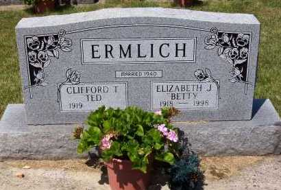 ERMLICH, CLIFFORD T. - Stark County, Ohio | CLIFFORD T. ERMLICH - Ohio Gravestone Photos