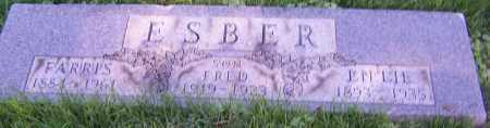 ESBER, LILLIE - Stark County, Ohio | LILLIE ESBER - Ohio Gravestone Photos