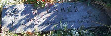 ESBER, ROSE S. - Stark County, Ohio | ROSE S. ESBER - Ohio Gravestone Photos