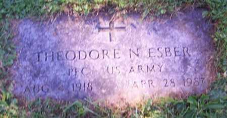 ESBER, THEODORE N. - Stark County, Ohio | THEODORE N. ESBER - Ohio Gravestone Photos