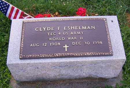 ESHELMAN, CLYDE F. - Stark County, Ohio | CLYDE F. ESHELMAN - Ohio Gravestone Photos