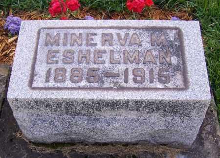 ESHELMAN, MINERVA M. - Stark County, Ohio | MINERVA M. ESHELMAN - Ohio Gravestone Photos