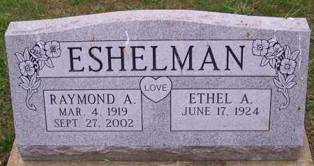 ESHELMAN, ETHEL A. - Stark County, Ohio | ETHEL A. ESHELMAN - Ohio Gravestone Photos
