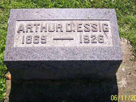 ESSIG, ARTHUR D. - Stark County, Ohio | ARTHUR D. ESSIG - Ohio Gravestone Photos