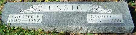 ESSIG, CAMILLE E. - Stark County, Ohio | CAMILLE E. ESSIG - Ohio Gravestone Photos