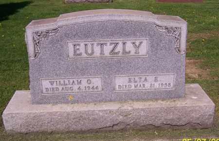 EUTZLY, ELTA E. - Stark County, Ohio | ELTA E. EUTZLY - Ohio Gravestone Photos