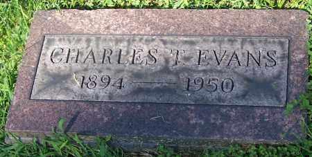 EVANS, CHARLES T. - Stark County, Ohio | CHARLES T. EVANS - Ohio Gravestone Photos