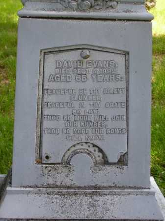 EVANS, DAVID - Stark County, Ohio | DAVID EVANS - Ohio Gravestone Photos