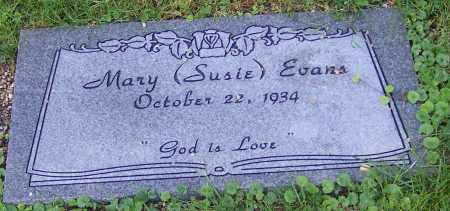 EVANS, MARY (SUSIE) - Stark County, Ohio | MARY (SUSIE) EVANS - Ohio Gravestone Photos