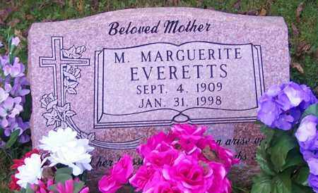 EVERETTS, M.MARGUERITE - Stark County, Ohio | M.MARGUERITE EVERETTS - Ohio Gravestone Photos