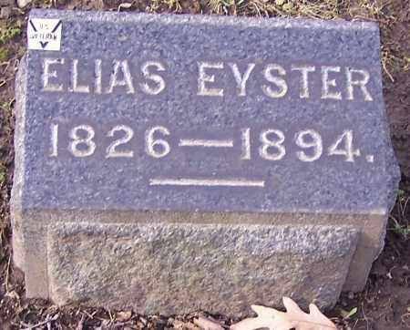 EYSTER, ELIAS - Stark County, Ohio | ELIAS EYSTER - Ohio Gravestone Photos