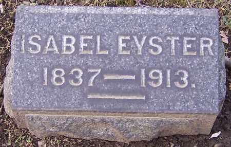 EYSTER, ISABEL - Stark County, Ohio | ISABEL EYSTER - Ohio Gravestone Photos
