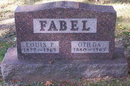FABEL, LOUIS P. - Stark County, Ohio | LOUIS P. FABEL - Ohio Gravestone Photos