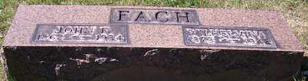 FACH, WILHELMINA - Stark County, Ohio | WILHELMINA FACH - Ohio Gravestone Photos