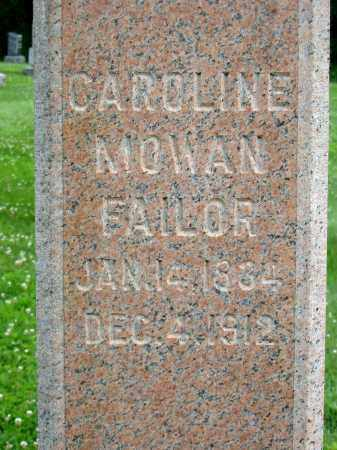 FAILOR, CAROLINE - Stark County, Ohio | CAROLINE FAILOR - Ohio Gravestone Photos