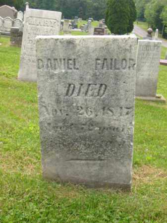 FAILOR, DANIEL - Stark County, Ohio | DANIEL FAILOR - Ohio Gravestone Photos