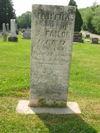 FAILOR, MARTHA A. - Stark County, Ohio | MARTHA A. FAILOR - Ohio Gravestone Photos