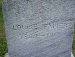 FAIVER, LOUISE - Stark County, Ohio | LOUISE FAIVER - Ohio Gravestone Photos