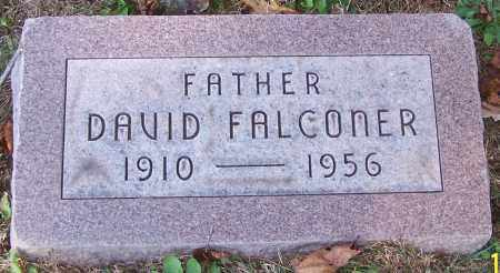 FALCONER, DAVID - Stark County, Ohio | DAVID FALCONER - Ohio Gravestone Photos