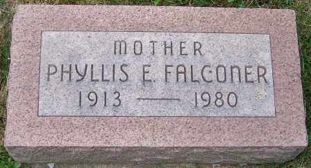 FALCONER, PHYLLIS E. - Stark County, Ohio | PHYLLIS E. FALCONER - Ohio Gravestone Photos