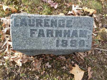 FARNHAM, LAURENCE - Stark County, Ohio | LAURENCE FARNHAM - Ohio Gravestone Photos