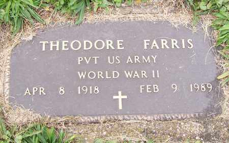 FARRIS, THEODORE - Stark County, Ohio | THEODORE FARRIS - Ohio Gravestone Photos