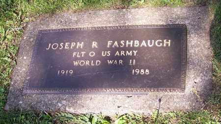 FASHBAUGH, JOSEPH R. - Stark County, Ohio | JOSEPH R. FASHBAUGH - Ohio Gravestone Photos