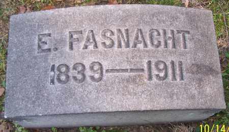 FASNACHT, EMELINE - Stark County, Ohio | EMELINE FASNACHT - Ohio Gravestone Photos