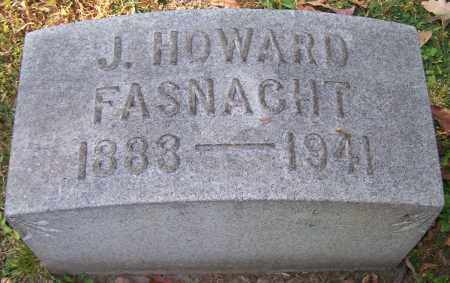 FASNACHT, J.HOWARD - Stark County, Ohio | J.HOWARD FASNACHT - Ohio Gravestone Photos