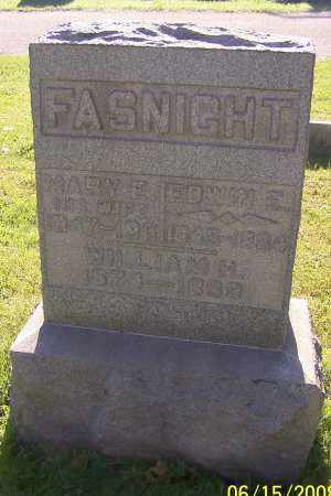 FASNIGHT, EDWIN E. - Stark County, Ohio | EDWIN E. FASNIGHT - Ohio Gravestone Photos