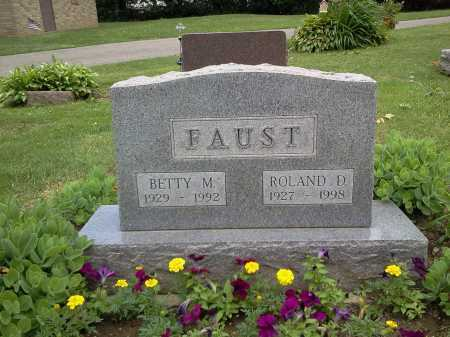 ZIMMERLY FAUST, BETTY M. - Stark County, Ohio | BETTY M. ZIMMERLY FAUST - Ohio Gravestone Photos