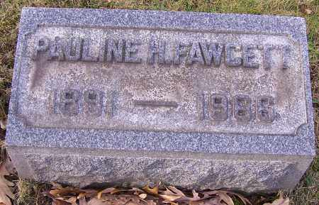 FAWCETT, PAULINE H. - Stark County, Ohio | PAULINE H. FAWCETT - Ohio Gravestone Photos
